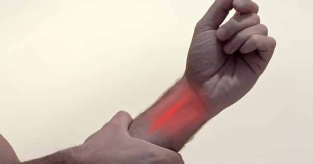 The Most Common Type of Wrist Pain?