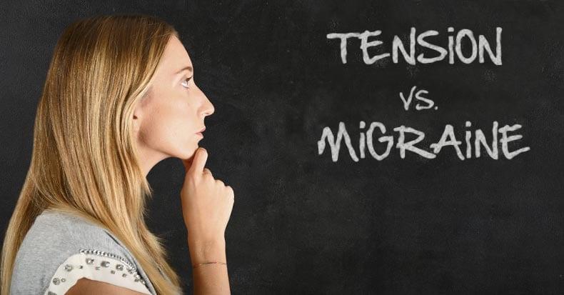 Tensión vs. Migraña: ¿Cuál es la Diferencia?