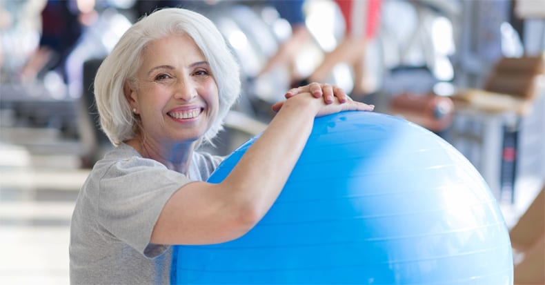 Exercises on a Swiss Ball Help Back Pain Patients!