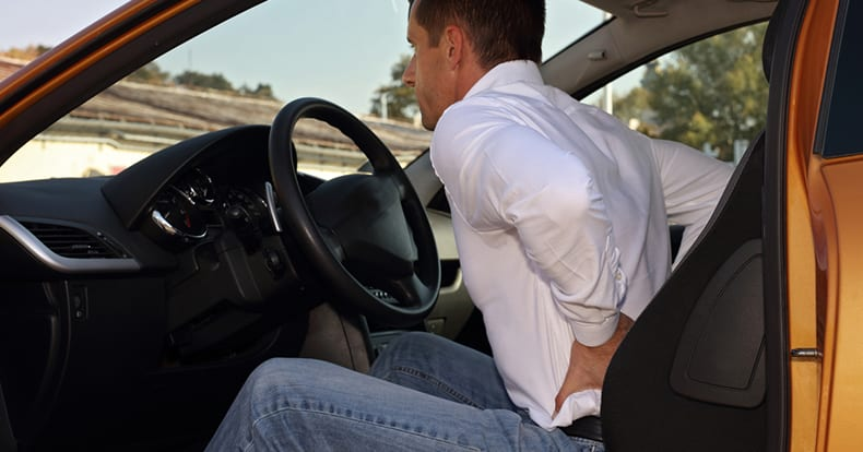 Motor Vehicle Crashes and Low Back Pain