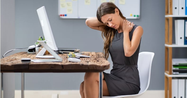 Neck Pain Among Office Workers