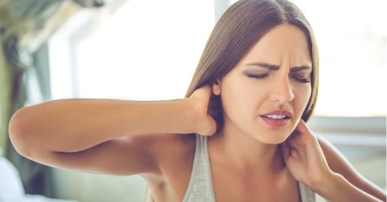 Whiplash and Weakened Neck Muscles